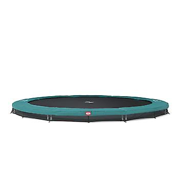 BERG InGround Champion 430 14ft Trampolin Sport Serie Grün