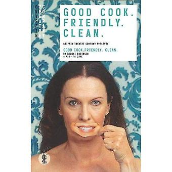 Good Cook. Friendly. Clean.