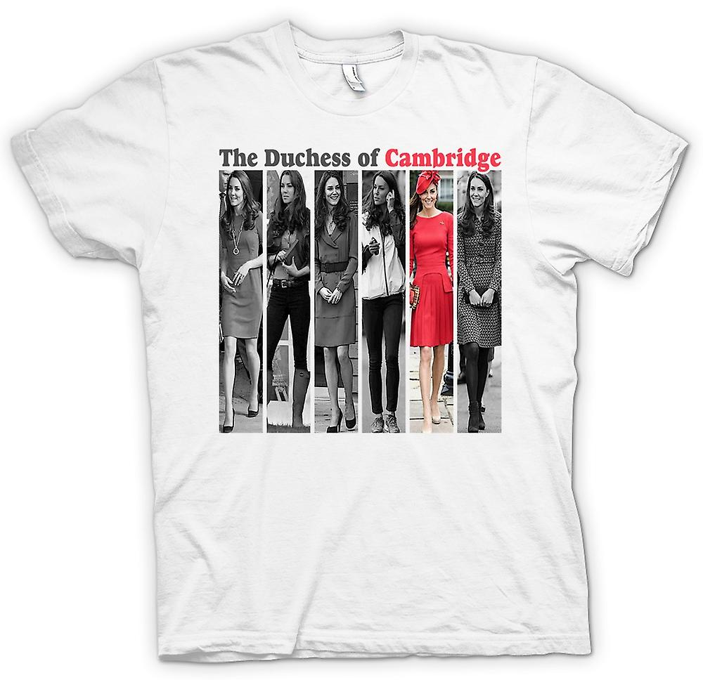 Mens T-shirt - The Duchess Of Cambridge - Kate Middleton