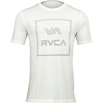 RVCA VA Sport Mens Unregistered T-Shirt - Antique White