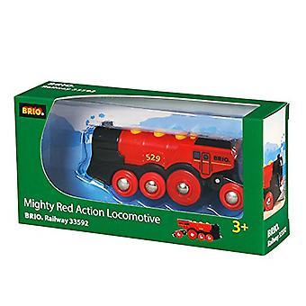 BRIO 33592 potężny czerwony działanie lokomotywy (2013 model)