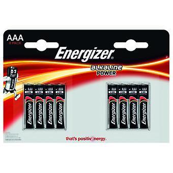 Energizer Alkaline Power Lr03 (Aaa) (8 Pcs)