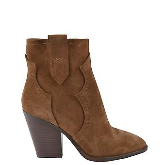Ash Footwear Esquire Russet Suede Heeled Boot