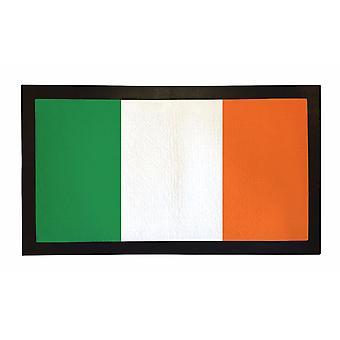 Printed Bar Runner Ireland Flag Rubber Bar Mat Mens Gift Idea