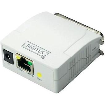 Network print server LAN (10/100 Mbps), Parallel (IEEE 1284) Digitus DN-13001-1