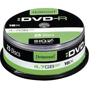 Blank DVD-R 4.7 GB Intenso 4101154 25 pc(s) Spindle