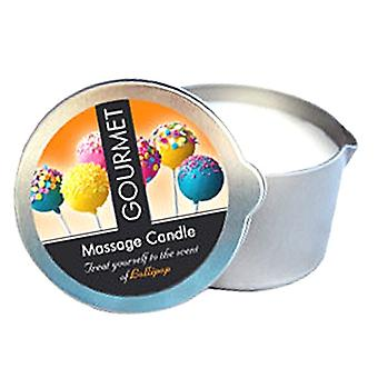 Gourmet massage candle lollipop