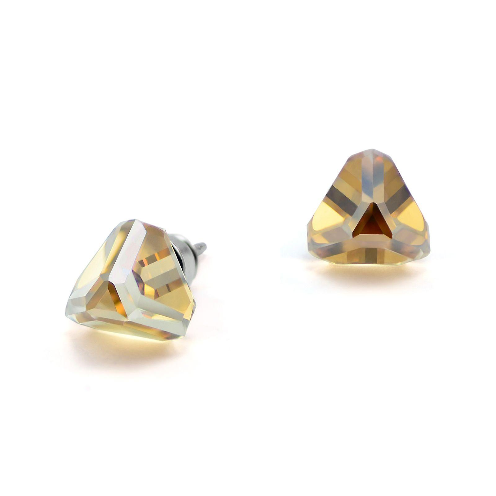 Yellow stud earrings EMB 13.6