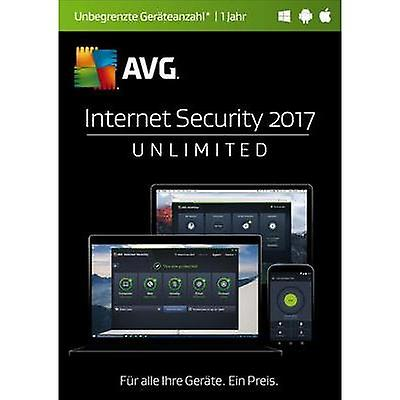 AVG Internet Security 2017 Full version, unlimited Windows, Android, Mac OS Security