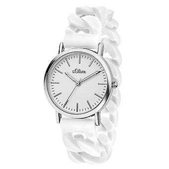 s.Oliver ladies watch wrist watch silicone SO-3263-PQ