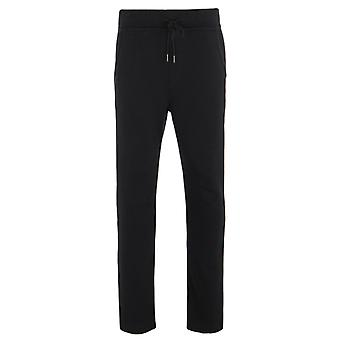 True Religion Drippy Horseshoe Black Jersey Tracksuit Bottoms