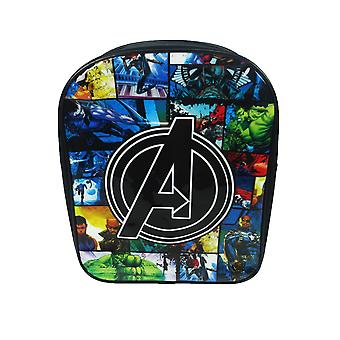 Marvel Avengers Assemble Cartoon 'A' Logo Comic Style PV Backpack
