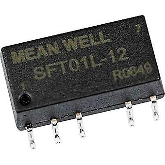DC/DC converter (SMD) Mean Well 12 Vdc 5 Vdc 200