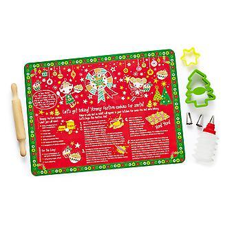 Cooksmart Santa's Star Baker 8 Piece Children's Baking Set