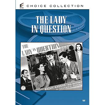 Lady in Question [DVD] USA import