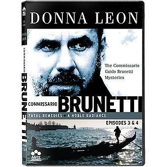 Commissario Guido Brunetti Mysteries: Ep 3 & 4 [DVD] USA import