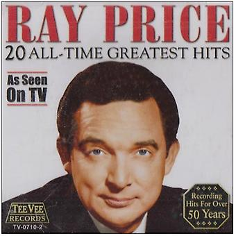 Ray pris - 20 Greatest Hits CD] USA importerer