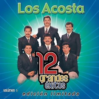 Los Acosta - Los Acosta: Vol. 1-12 Grandes Exitos [CD] USA importar