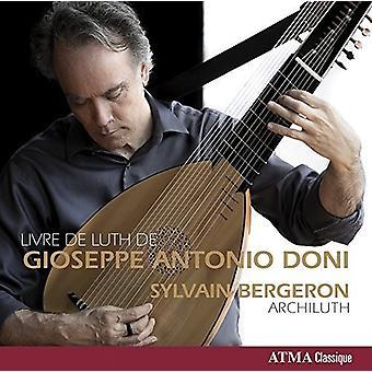 Kasperber / Bergeron, Sylvain - Livre De Luth De Gioseppe Antonio Doni [CD] USA import