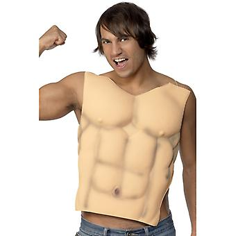 Мышцы костюм Sixpack мышцы верхней костюм