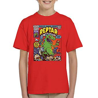 Reptar King Of Monsters Rugrats Kid's T-Shirt
