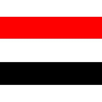 Yemen Flag 5ft x 3ft With Eyelets For Hanging