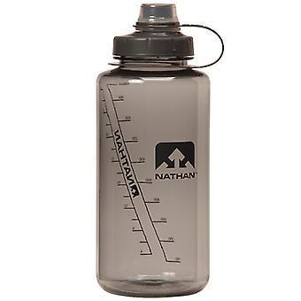 Nathan big shot bouche étroite bouteille 1 litre gris 4321TNG