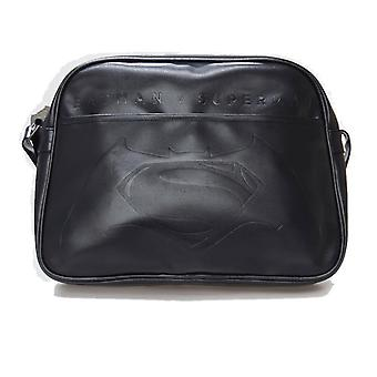 Official Batman v Superman Logo Messenger Bag / Satchel