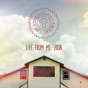 Jones Family Singers - Live From Mt. Zion [CD] USA import