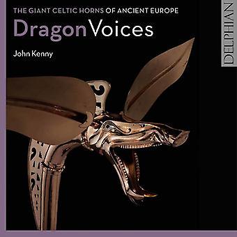 John Kenny - Dragon stemmer: Kæmpe Celtic horn af gamle Europa [CD] USA import