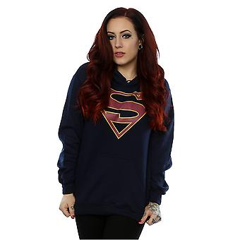 DC Comics Women's Supergirl Logo Hoodie