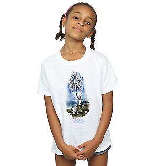 Star Wars Girls der letzten Jedi Rey Lichtschwert T-Shirt