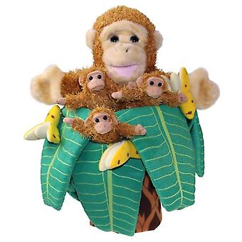 The Puppet Company Fingers Puppets Monkey In Tree
