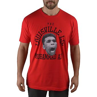Title Boxing Ali The Louisville Lip Premium Fitted Legacy T-Shirt - Red