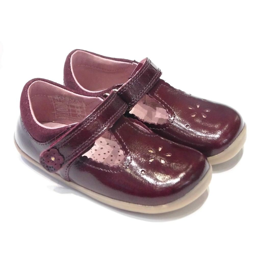 Bobux Bobux Reign Gloss Toddler T-Bar Shoes In Patent Leather