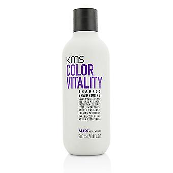 KMS California farve vitalitet Shampoo (farve beskyttelse og restaureret udstråling) - 300ml/10.1 oz