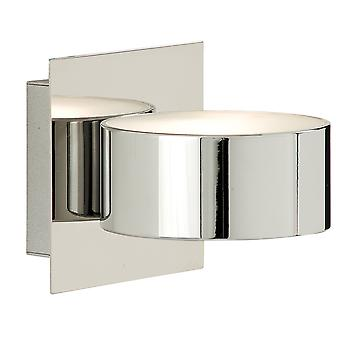 Searchlight 2691CC 1 Light Wall Light In Chrome