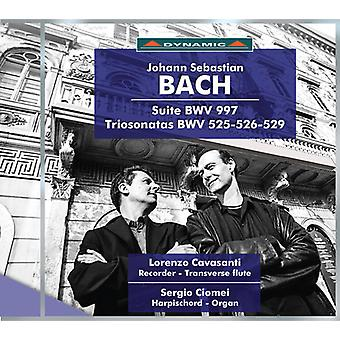 Bach, J.S. / Cavasanti / Ciomei - Suite Bwv 997 - Triosonate Bwv 525-526-529 [CD] USA import