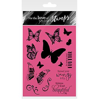 Hunkydory For The Love Of Stamps A6-Spread Your Wings FTLS170