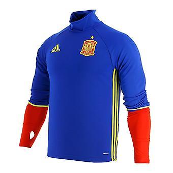 2016-2017 Spain Adidas Training Top (Blue)