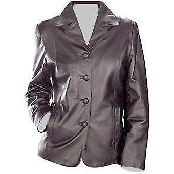 Womens Supple Leather Coat