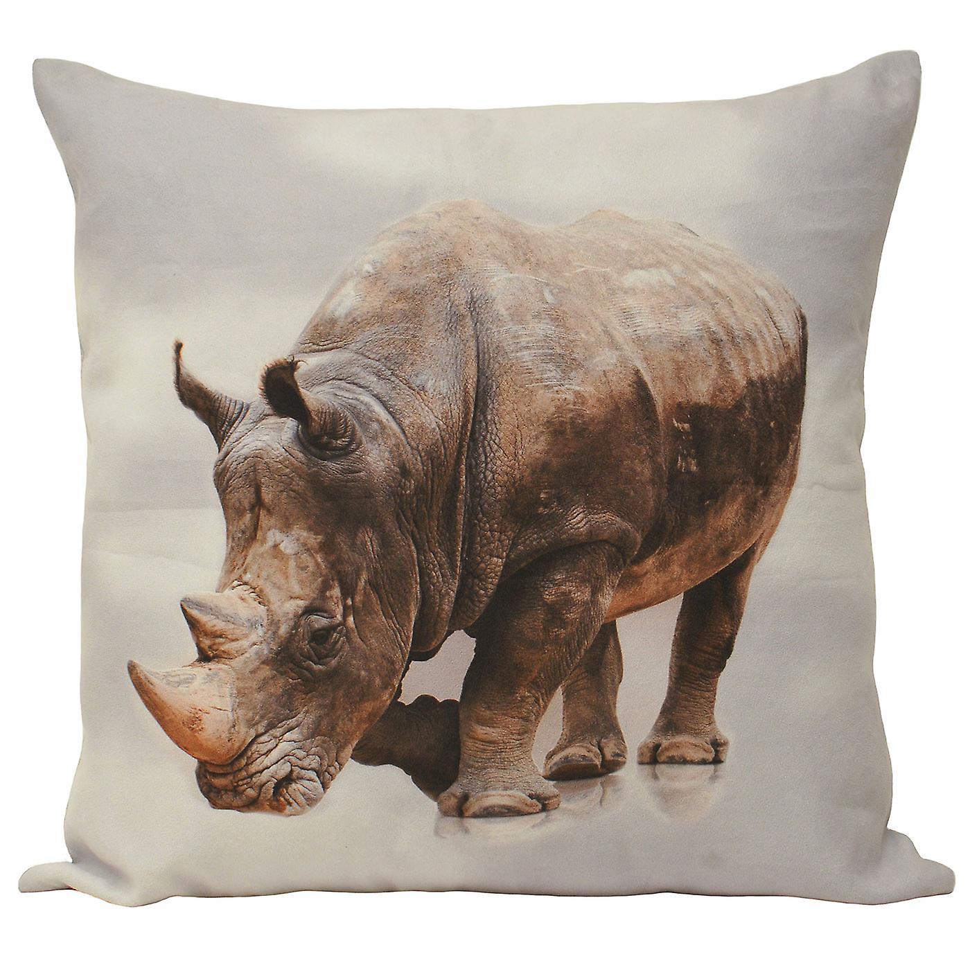 Riva Home Animal Rhino Cushion Cover