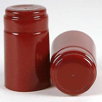 Shrink Capsules - Dark Red - 1000x