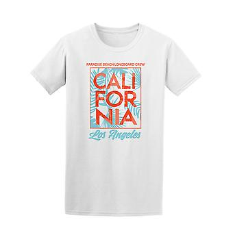 Los Angeles Cali Paradise Beach Tee Men's -Image by Shutterstock