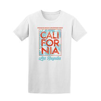 Los Angeles Cali Paradise Beach T-Shirt Herren-Bild von Shutterstock