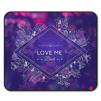 Love Me  Non-Slip Mouse Mat Pad 24cm x 20cm   Wellcoda