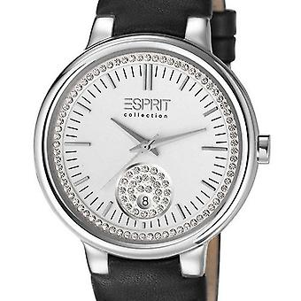 ESPRIT collection ladies watch bracelet watch Maia leather EL101972F02