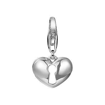 ESPRIT pendant of charm silver heart Castle ESCH91501A000