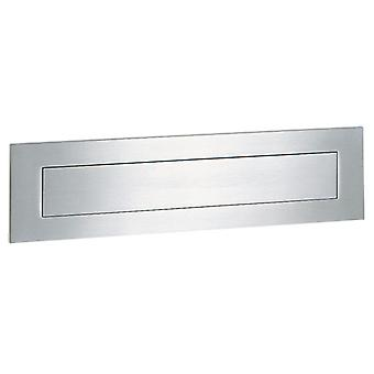 Serafini postbox L 400 mm - stainless steel V4A 8 x 40 x 0.3 cm