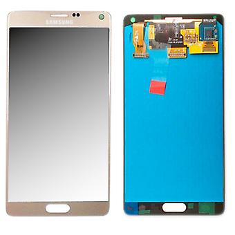 Display LCD complete set GH97-16565 C gold for Samsung Galaxy touch 4 N910F